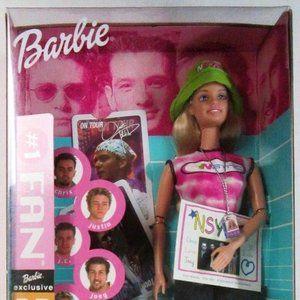NSYNC Barbies